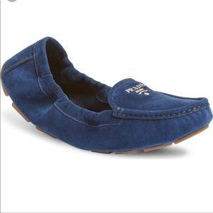 NWT Prada Scrunch loafer
